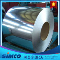 ASTM A653 CS-B, SS230~SS550 Chromated Galvanized Steel in Coil