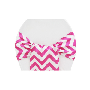 Chevron Satin