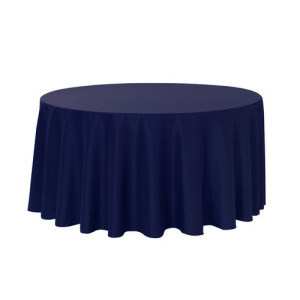 100% 132'' round polyester table cloth