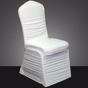 ruffle banquet chair cover