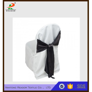 Polyester Banquet Chair Cover With Wide Sash