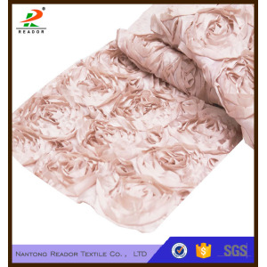 Wedding Rosette Satin Table Runner