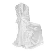 Universal Self- tie Satin Wedding Chair Covers