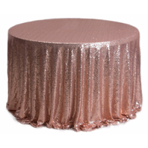 Fancy sequin tablecloth