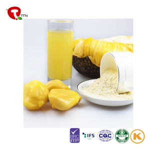 TTN China New Export Freeze Dried Jackfruit For Sale as Healthy Snacks