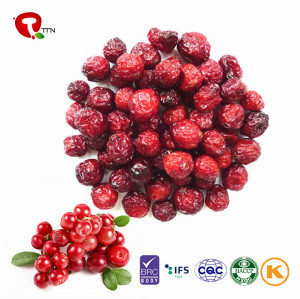 TTN Healthy Snack Freeze Dried Cranberries Foods Prices For Cranberry Fruit powder