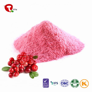 TTN Chinese Hot Sale Freeze Dried Cranberries Fruit as Healthy Cranberry  beans Snacks
