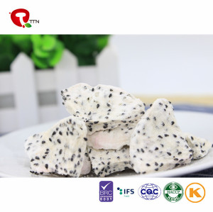 TTN Chinese Freeze Dried Dragon Fruit Snacks With Natural Dragon Fruit Taste