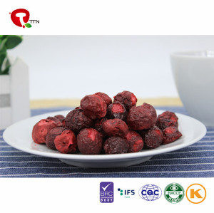 New Products Healthy Dry Fruits Freeze Dried Cherries Chinese Suppliers