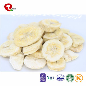 Freeze Dried Banana Slice And Chips Healthy Snacks For Kids