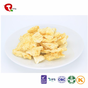 TTN 2018 Healthy Freeze Dried Pineapple Chunks Food