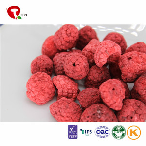 TTN Chinese Manufacturers Sale Freeze Dried Raspberries Fruit Snacks of Raspberry