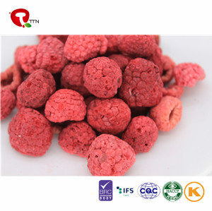 TTN Dried Fruits Of Freeze Dried Red Whole Raspberries As Snacks