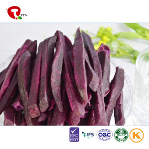 TTN New Healthy VF Fried Purple Potatoes For Sale Vacuum Fried Vegetables Chips