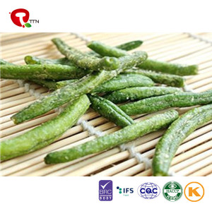 TTN China Sale Vacuum Fried Dried Green Beans Vegetables From Fresh Green Beans