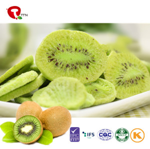 TTN China Supplier Prices For Freeze Dried Fruit Kiwi With Kiwi Nutrition