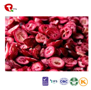 TTN New Wholesale Freeze Dried Cranberries Fruit With Nutrition of Cranberry