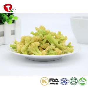 TTN China Sale Vacuum Fried Cauliflower Chips From Best Healthy Cauliflower