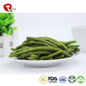 TTN Export Vacuum Fried Dried Green Bean Snack For Green Bean Buyer
