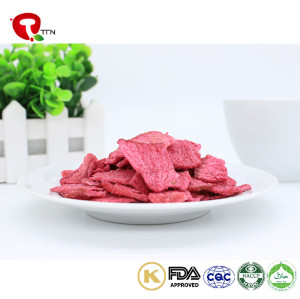 TTN Wholesale Snack Food Vacuum Fried Radish Chips With Low Calorie Snacks