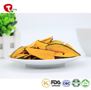 TTN China New Vacuum Fried Pumpkin Food Slices From Fresh Healthy Vegetables