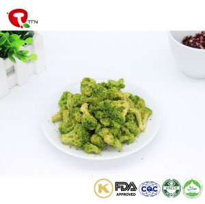 TTN Healthy Snacks of Vacuum Fried Best Fried Broccoli For Broccoli Buyer