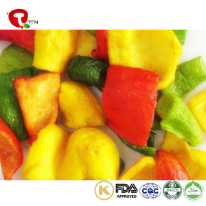 TTN New Sale Chips of Vacuum Fried Pepper For green and red peppers vegetables Buyer