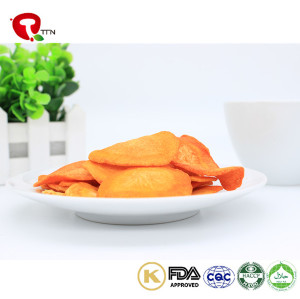 TTN China New Carrot Chips Healthy VF Vacuum Fried Carrots Supplier