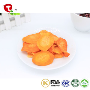 TTN Wholesale Vegetables Vacuum Fried Carrots Nutritious Snacks For Sale