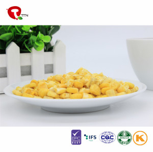 TTN Hot Sale Best Freeze Dried Corn Vegetables Chinese Dried Food benefits