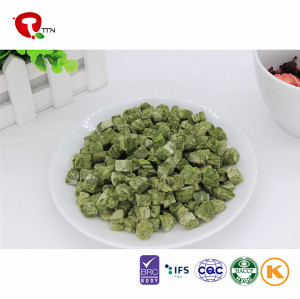 TTN 2018 Hot Sale Best Freeze Dried Spinage Low Calories Vegetable