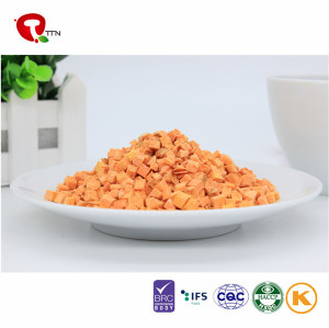 2018 TTN Price Of Dried Carrot Or Carrot Diced Dehydrated Vegetable Healthy And Natural