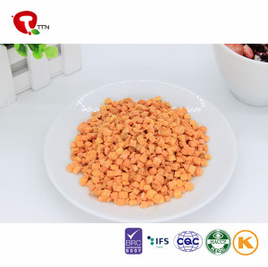 2018 TTN Freeze Dried Carrots Price Healthy Food Dehydrated Vegetable