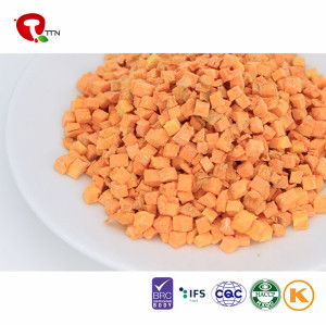 2018 TTN Freeze Carrots Diced Price From China Supplier