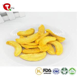 TTN Wholesale Vacuum Fried Fruit With Low Calorie Snacks From Frying Peaches