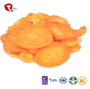 TTN 2018 Wholesale Vegetables Vacuum Fried Carrots Nutritious Snacks