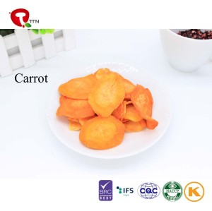TTN Sale Low Calorie Snacks of Vacuum Fried Pumpkin wholesale snacks
