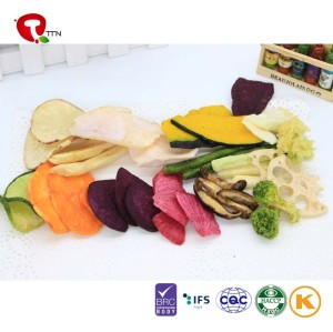 TTN  2018 New Sale Dry Vegetables  Of Freeze Dried vegetables  Mix Snacks Price