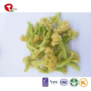 TTN China Sale Vacuum Fried Cauliflower Chips