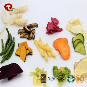 TTN Chinese Wholesale Hot Sale Best Freeze Dried Mix Vegetables Chips