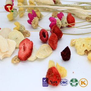 TTN Freeze Mix  Dried Fruit Whole Food low calorie snacks
