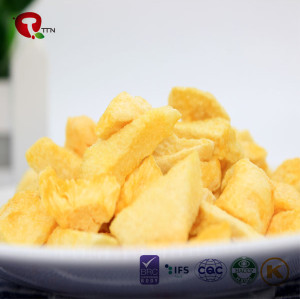 TTN Wholesale Vacuum Fried Fruit With Low Calorie Snacks From peach dried