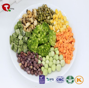 TTN Chinese Wholesale Hot Sale Best Freeze  Mix Dried Vegetables