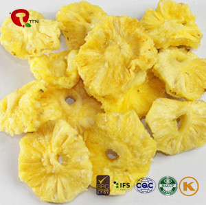 TTN Chinese Wholesale Freeze Dried Pineapple Health Chips