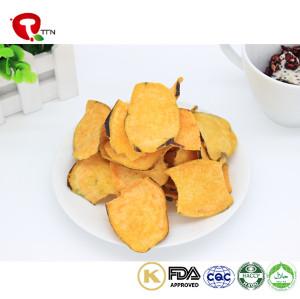 TTN  Wholesale Healthy Sweet Potato Snacks Vacuum Fried Sweet Potato