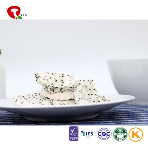 TTN Hot Sale Freeze Dried Dragon Fruit Food Of red Dragon Fruit