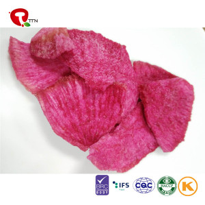 TTN New Sale Vacuum Fried Vegetables of Fried Red Radish And Green Radish Of Vacuum Fried Vegetable Chips