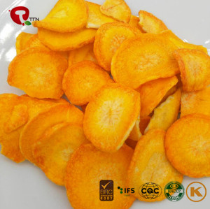 TTN Freeze Carrots With Carrot Chips Nutritious Snacks
