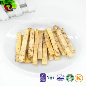 TTN China Export Vacuum Fried Vegetables Of Crispy Taro Green Vegatables