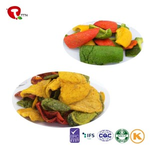TTN 2018 Fried Color Pepper Healthy Snacks Fried Color Pepper